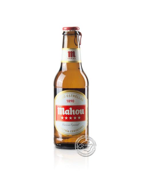 Mahou Cerveza 5 Estrellas, 0,25-l-Flasche