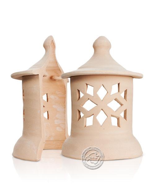 Keramikwandleuchte Raute