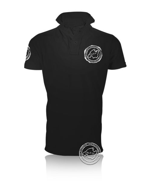 Der Mallorquiner Polo-Shirt schwarz