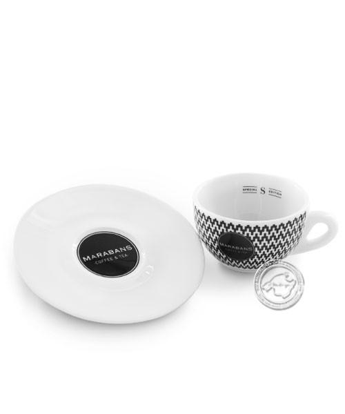 Taza de café marabans para cappuccino, je Stück