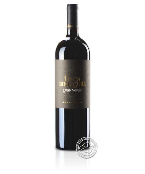 Biniagual Gran Veran Doppelmagnum, Vino Tinto 2015, 3-l-Flasche
