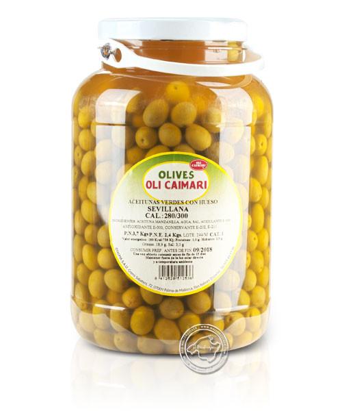 Caimari Aceitunas Sevillanas, 3,7/2,4 kg