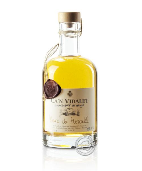 Marc de Moscatel 43 %, 0,5-l-Flasche