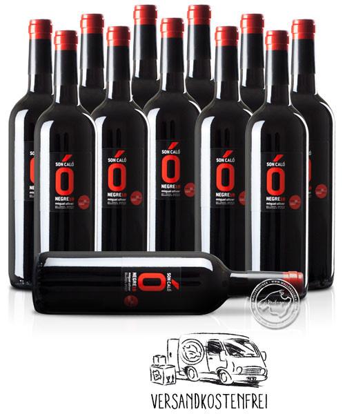 12'er Set Miquel Oliver Son Caló Negre, Vino Tinto 2019