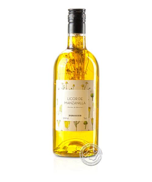 Gin Xoriguer Hierbas Camomilla, 30 % vol.