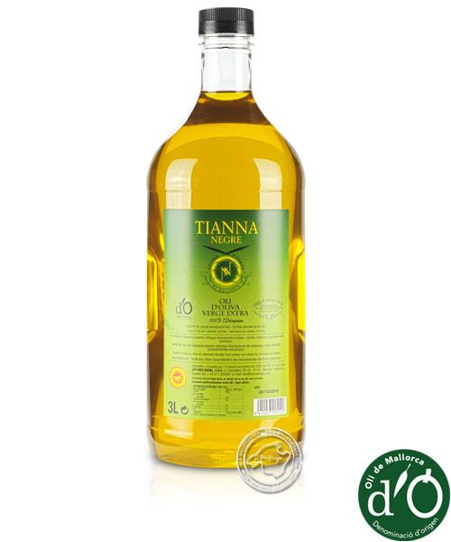 Tianna Negre Aceite de oliva Virgen Extra D.O., 3 l