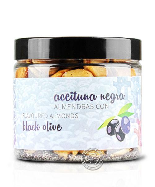 Mallorca Fruits Gran Seleccion Almendra Aceituna, geröstete, gesalzene Mandeln mit Oliven, 125 g