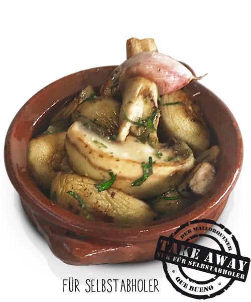 Champiñon con Ajo - Champignons mit Knoblauch
