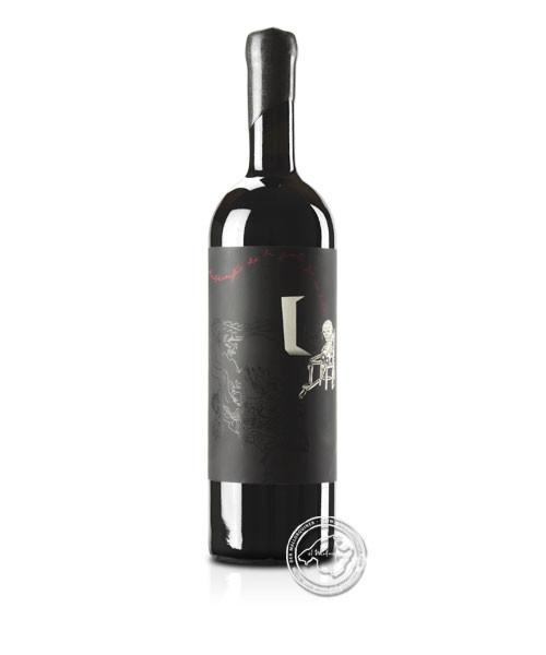 Ribas Desconfio de la gente que no bebe, Vino Tinto 2019, 0,75-l-Flasche