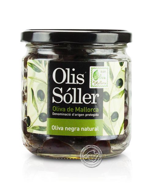 Olives Negras D.O., 200-g-Glas