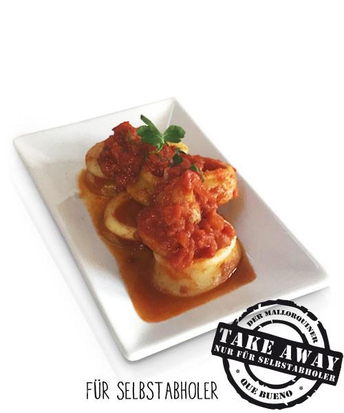 Calamares en Salsa de Tomate - Tintenfisch in Tomatensoße