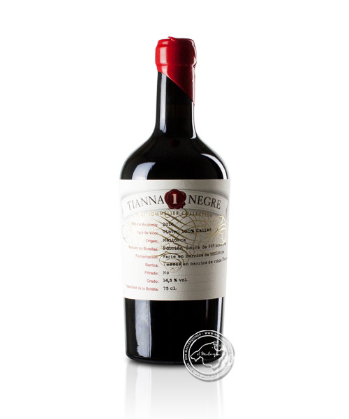 Tianna 1 Negre Col.leccio Callet The Sommelier Collection 2017, 0,75-l-Flasche