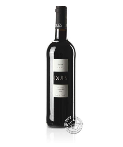 DUES Callet / Sirah, Vino Tinto 2018, 0,75-l-Flasche