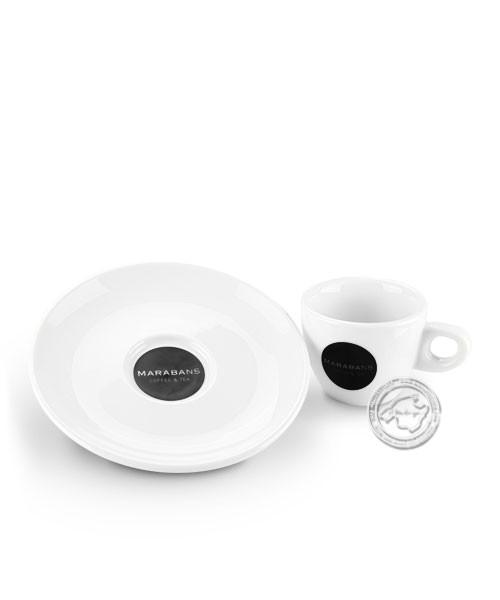 Taza de café marabans para café o cortado, je Stück