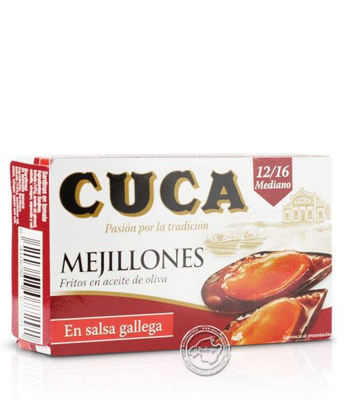 Cuca Mejillones en salsa gallega, 65-g-Packung