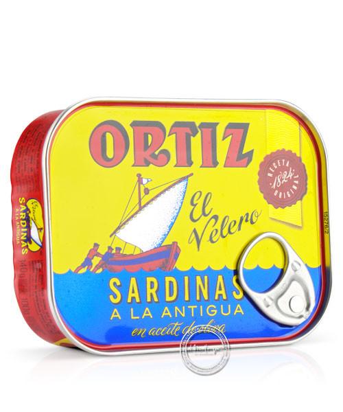 Ortiz Sardinas a la antigua an aceite d´oliva - Sardinen tradi. in Olivenöl, 100/140 g