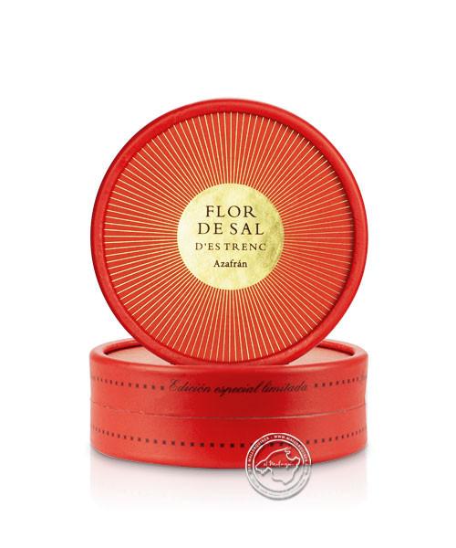 Flor de sal Azafrán, 50-g-Dose