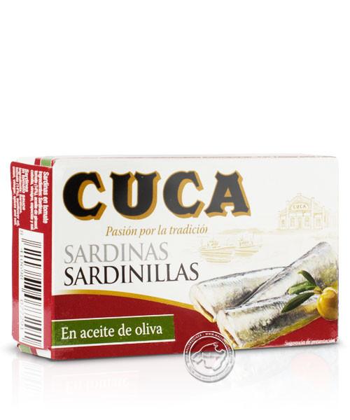 Cuca Sardinas en aceite de oliva, 63-g-Packung