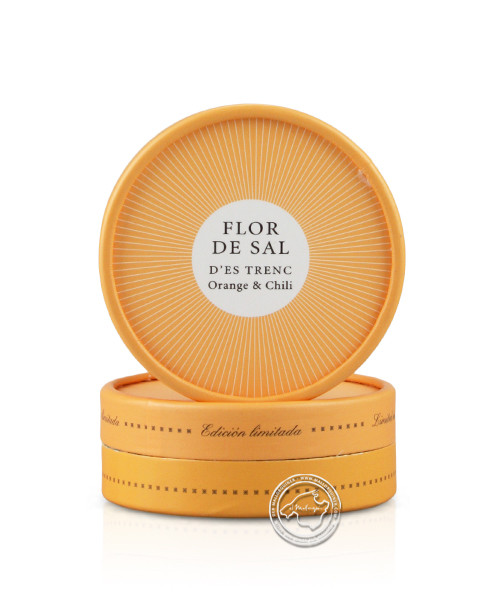 Gusto Mundial Flor de Sal Orange & Chili Edition limitada, 60 g