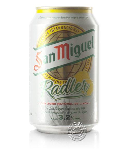 San Miquel - Radler, San Miquel Bier - Zitrone, 0,33-l-Dose