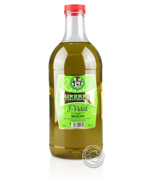 Hierbas Secas 40 %, 3-l-Flasche