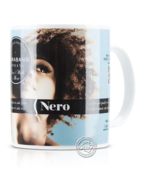 Taza de café marabans Nero para café con leche, je Stück