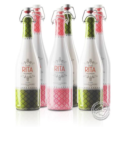 6er Set Sangria RITA Mediterranea/Clarea Mix