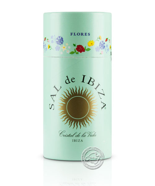 Sal de Ibiza Granito con Flores, 75 g