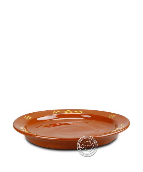 Teller-Campo-Serie, volllasiert mit mallorquinischen traditionellen Ornamenten 19,5 cm