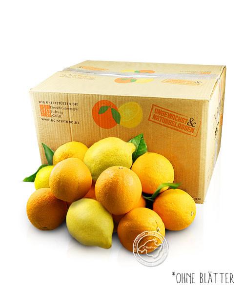9kg Orangen & 1kg Zitronen aus Mallorca versandkostenfrei, 10 kg Kiste
