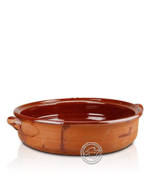 Keramik-Schale mit 2 Griffen Greixonera-Campo-Serie ca. 29,5 cm x 8,5 cm
