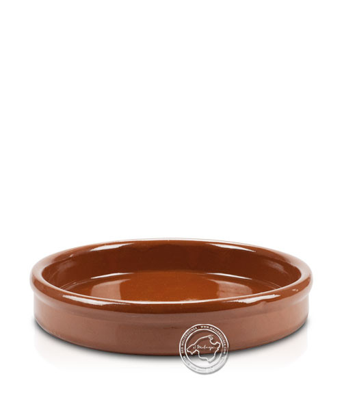 Keramik-Schale flach volllasiert 32 cm, je Stück