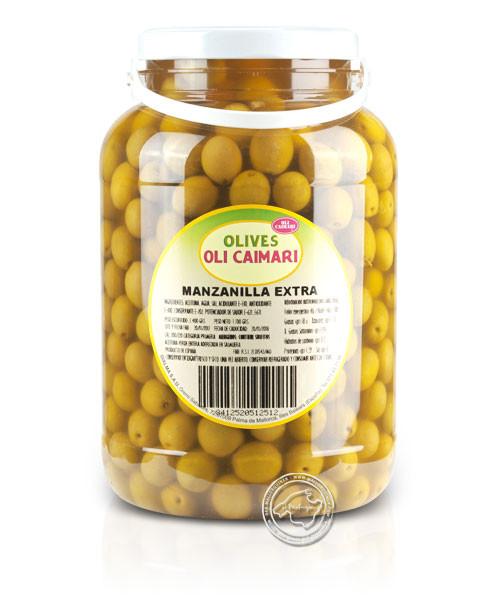 Manzanilla Extra - Manzanilla-Oliven, 2,4-kg-Eimer
