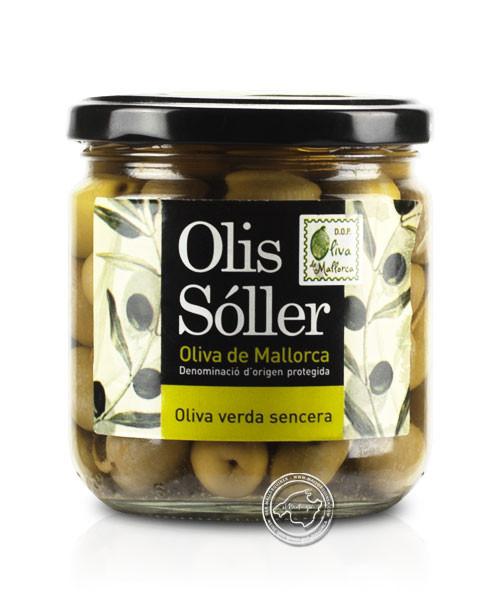 Cooperativa Soller Olives Verdes Senceres, 330/200 g
