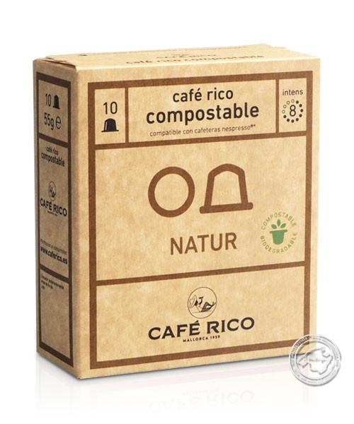 Café Rico Kapseln Tueste Natural, 55-g-Packung