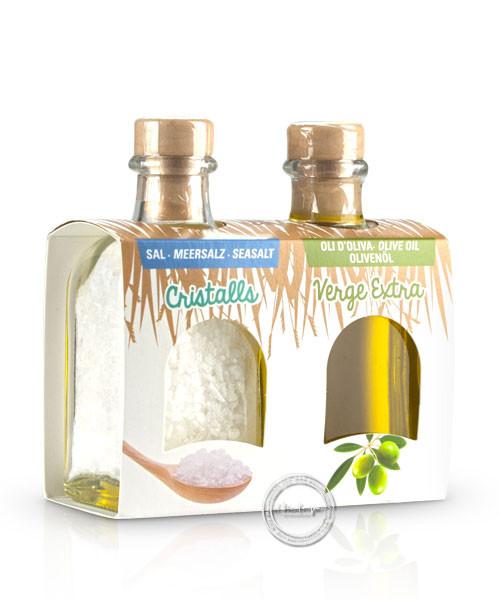 Mallorca Verda - Pack Sal Marina i Oli d´oliva verge extra, 100 ml. x 2
