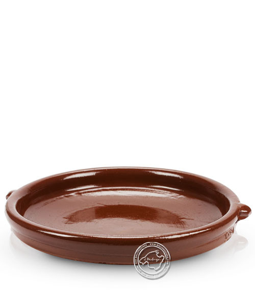 Keramik-Schale flach volllasiert 28 cm, je Stück