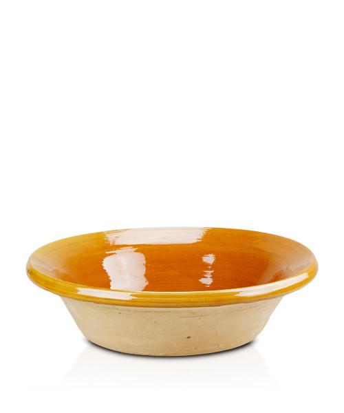Keramik-Topf, mit 2 Griffen Olla-Campo-Serie ca. 27 cm x 7,5 cm