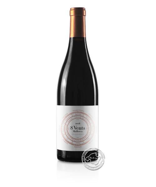 8 Vents, Vino Tinto 2018, 0,75-l-Flasche
