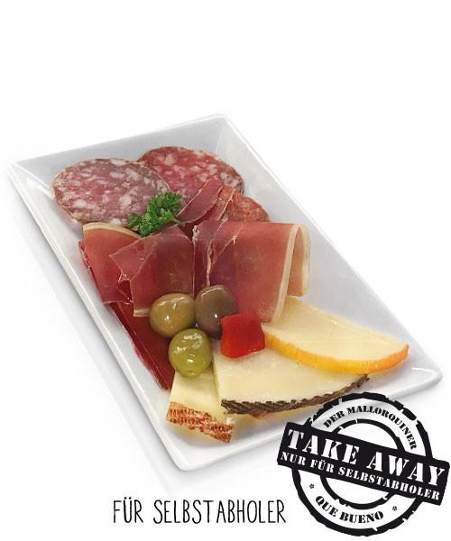 Plato Mixto - Gemischte Platte Wurst und Käse