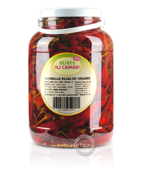 Guindillas rojas picantes, 1,5-kg-Eimer